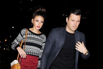 Michelle Keegan Celebs Party Late in London — Part 2