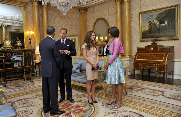 Michelle Obama Kate Middleton Photos Barack And Michelle