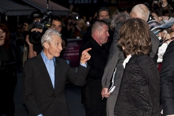 Mick Jagger Charlie Watts The Premiere of 'Crossfire Hurricane'