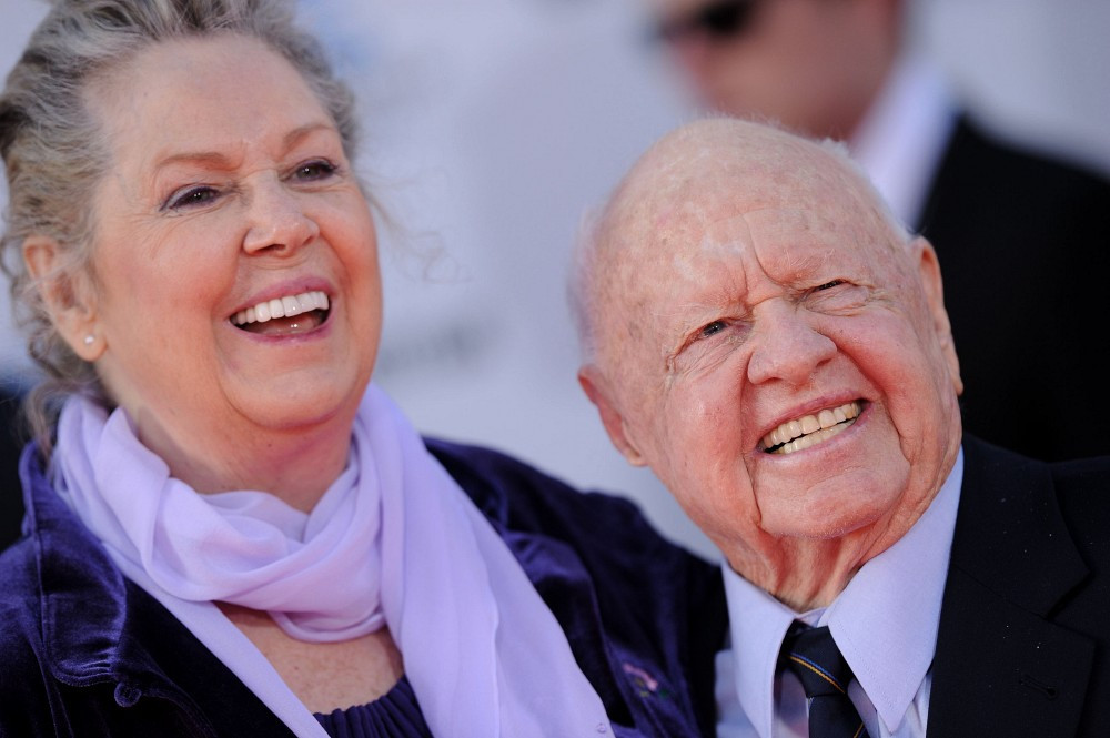 "Mickey Rooney and Jan Rooney - ""An American in Paris"" World Premiere"