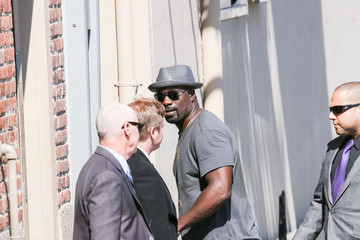 Mike Colter Mike Colter at 'Jimmy Kimmel Live'