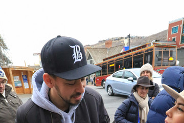 Mike Shinoda Celebs Are Seen at Sundance Film Festival