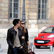 Miranda Kerr and Orlando Bloom  Miranda Kerr and Orlando Bloom Stroll in Paris