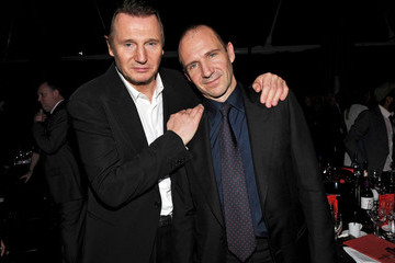 Ralph Fiennes Liam Neeson Moet British Independent Film Awards