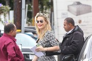 Molly Sims Runs Errands in LA