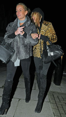 Kate Moss Kate Moss and Davinia Taylor on the Town