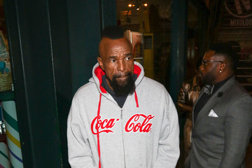 Mr. T Celebrities Are Seen at The Grove in Los Angeles