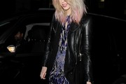 Stars spotted outside Sketch for the NME Awards afterparty.