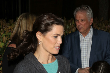 Nancy Kerrigan Celebrities Are Seen at The Grove in Los Angeles