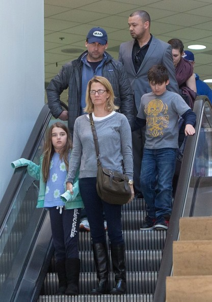 Steve Carell Wife And Kids Steve carrell and family at