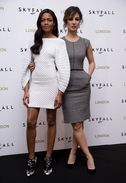 Naomie Harris - Celebs at the 'Skyfall' Photocall