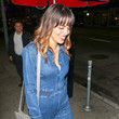 Natalie Morales Natalie Morales Is Seen Outside Largo Comedy Club In West Hollywood