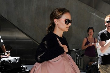 Natalie Portman Natalie Portman and Benjamin Millepied Travel