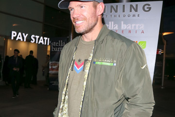 Nate Boyer Nate Boyer Outside ArcLight Theatre in Hollywood