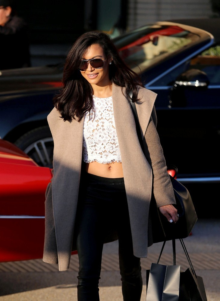 Naya Rivera Goes Shopping in NYC