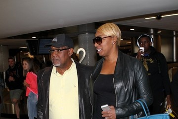 NeNe Leakes Nene Leakes and Gregg Leakes at LAX