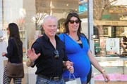 Neal McDonough and Ruve McDonough spotted at LAX airport.