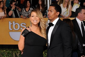 Nick Cannon Mariah Carey 20th Annual Screen Actors Guild Awards