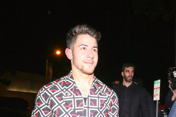 Nick Jonas Nick Jonas Dines At Craig's Restaurant In West Hollywood