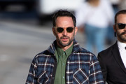 Nick Kroll is seen at 'Jimmy Kimmel Live' in Los Angeles, California on March 7, 2019.