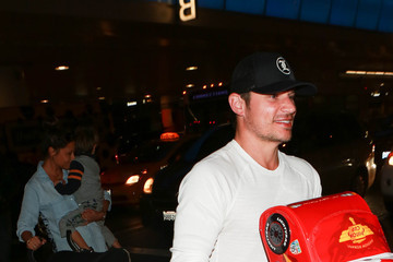 Nick Lachey Nick and Vanessa Lachey Are Seen at LAX