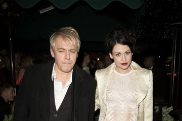 Nick Rhodes Nefer Suvio Celebs at the Love Magazine Christmas Party — Part 2