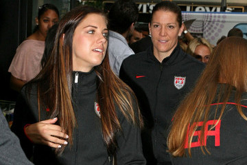 Nicole Barnhart Team USA Returns Home
