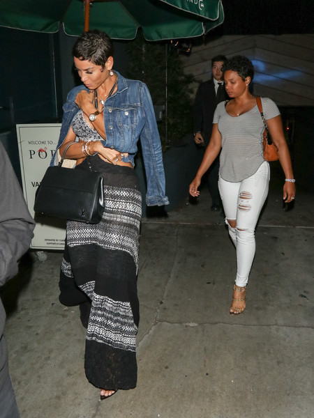 Nicole Mitchell Murphy Is Seen Outside Poppy Nightclub In West Hollywood
