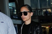 Nicole Richie Arrives at LAX