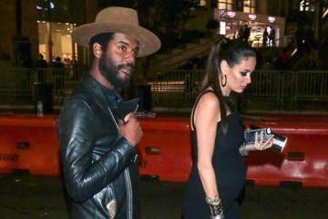Nicole Trunfio Gary Clark Jr and Nicole Trunfio Outside the Dolby Theatre in Hollywood
