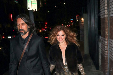 Nikka Costa Nikka Costa and Justin Stanley Are Seen Outside Avenue Nightclub in Hollywood