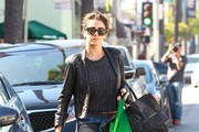 Nikki Reed Runs Errands