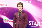 Beau Mirchoff  is seen attending Now Apocalypse Premiere at Hollywood Palladium in Los Angeles, California.