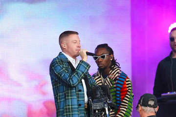 Offset Macklemore and Offset Perform at 'Jimmy Kimmel Live'