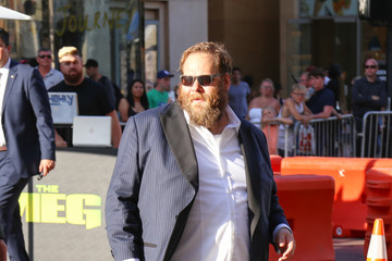 Olafur Darri Olafsson Olafur Darri Olafsson Is Seen Outside 'The Meg' Premiere At TCL Chinese Theatre