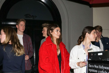 Olivia Jade Giannulli Olivia Jade Giannulli Dines Out At Craig's Restaurant