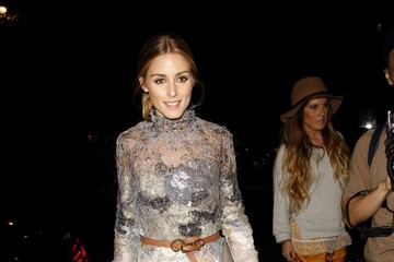 Olivia Palermo Celebs at the Marchesa Show