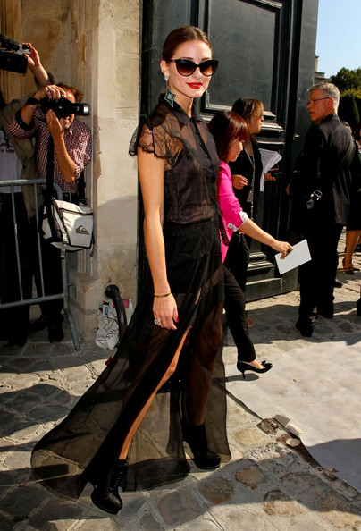 Olivia Palermo - Celebs at the Christian Dior Show