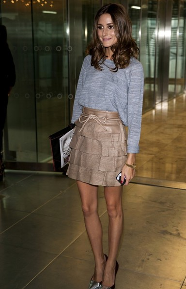 Olivia Palermo - London Fashion Week guests