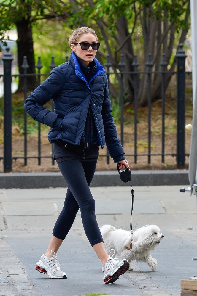Photo of Olivia Palermo & her Dog