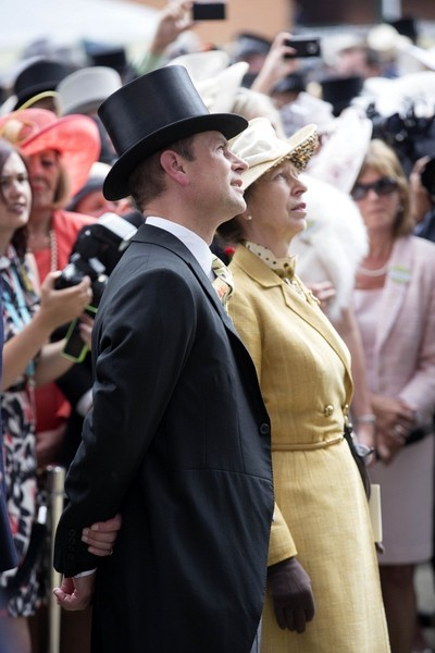 Royals Attend the 2015 Royal Ascot Meeting on June 16, 2015