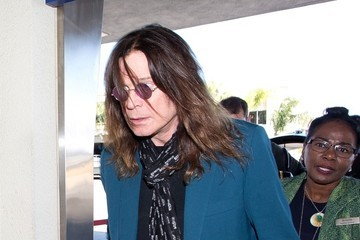 Ozzy Osbourne Ozzy Osbourne Arrives at LAX