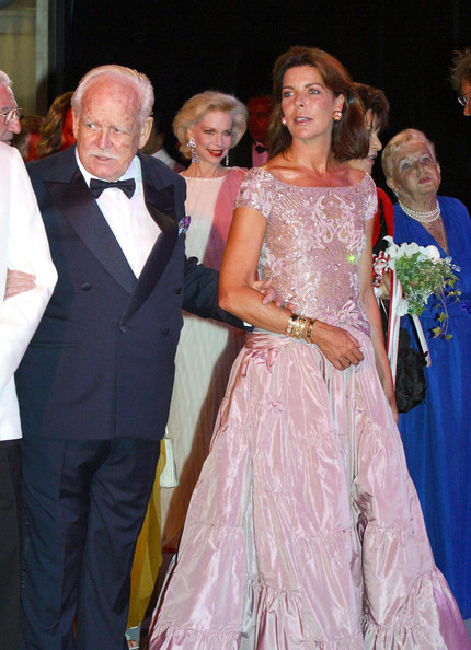PRINCE RAINIER - Celebrity Arrivals at the Red Cross Ball in Monaco