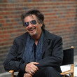 Pacino laughs on set