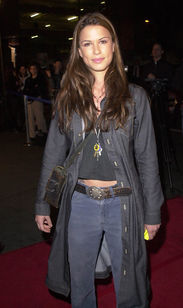 Love you man wedding style - Rhona Mitra In Quot Party Of Five Quot Anniversary Party Zimbio