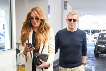 Patrick Kielty Cat Deeley And Her Husband Are Seen Out And About