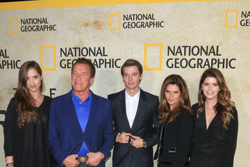 Patrick Schwarzenegger Christina Schwarzenegger Premiere of National Geographic's 'The Long Road Home'