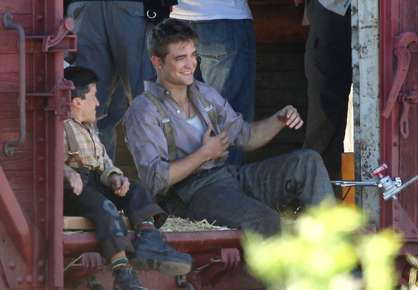 Robert Pattinson on the Set of 'Water for Elephants'
