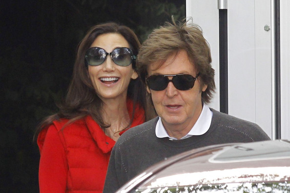 Sir Paul McCartney And Nancy Shevell Out In London