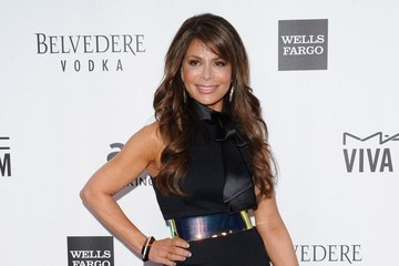 Paula Abdul Arrivals at the amfAR Inspiration Gala